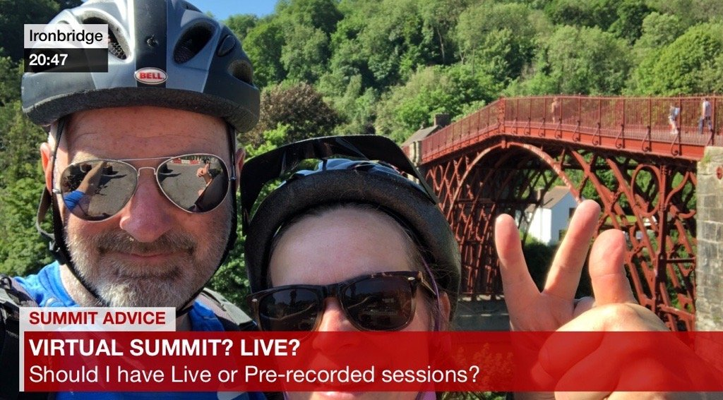 Should my Virtual Summit have Live Sessions or Pre-recorded